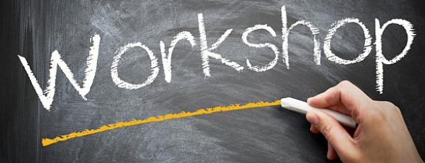 Workshops Chalkboard