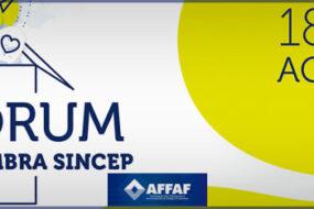 Fórum ACEMBRA SINCEP 2021 acontece em agosto